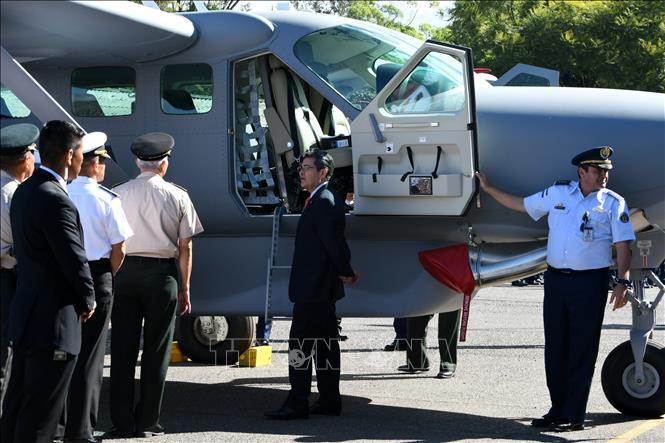 Chính phủ Honduras đã được Mỹ viện trợ loại máy bay hạng nhẹ Cessna Grand Caravan 208B- Ex để đẩy mạnh hoạt động chống buôn bán ma túy và tội phạm.