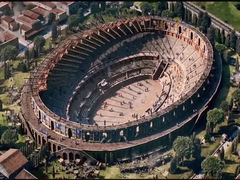 Nhà hát lớn ở Pompeii