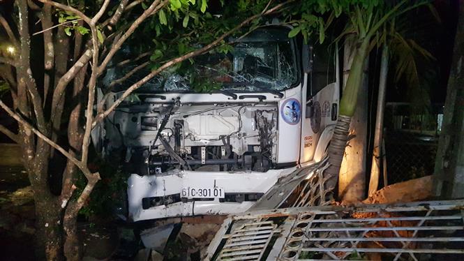 Hình ảnh một vụ tai nạn giao thông