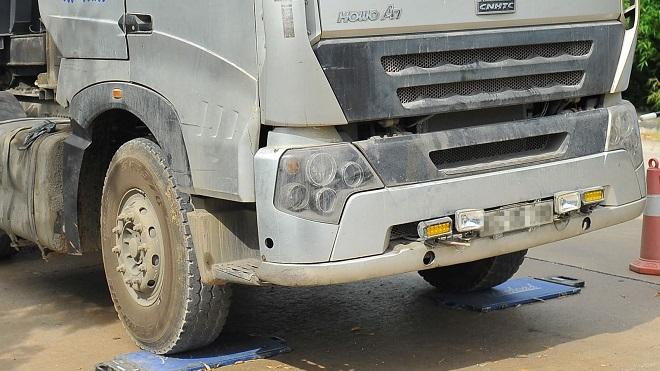 Đề nghị đặt cân tải trọng xe trên cầu Thăng Long, đường Vành đai 3- Hà Nội