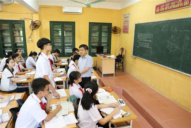 Các trường THCS tập trung ôn luyện cho học sinh lớp 9
