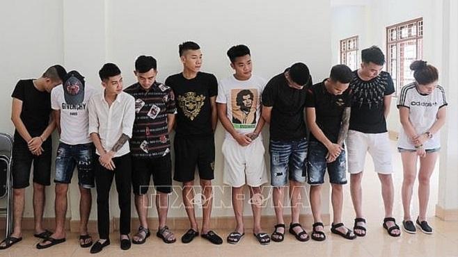 Tạm giữ 14 đối tượng tham gia 'tiệc sinh nhật ma túy'