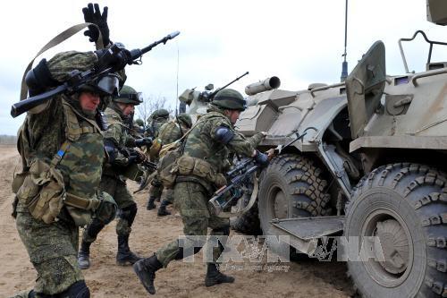 Một cuộc tập trận của quân đội Nga