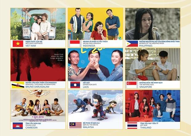 Các bộ phim được trình chiếu trong Tuần phim ASEAN 2020. (Nguồn: Danang.gov.vn)