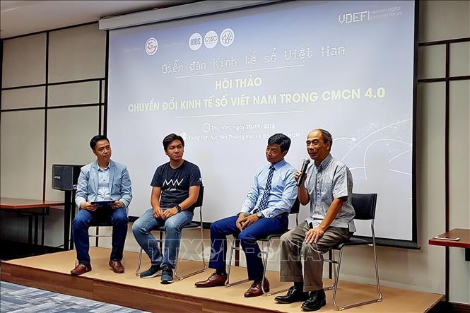 Một cuộc hội thảo công nghệ số