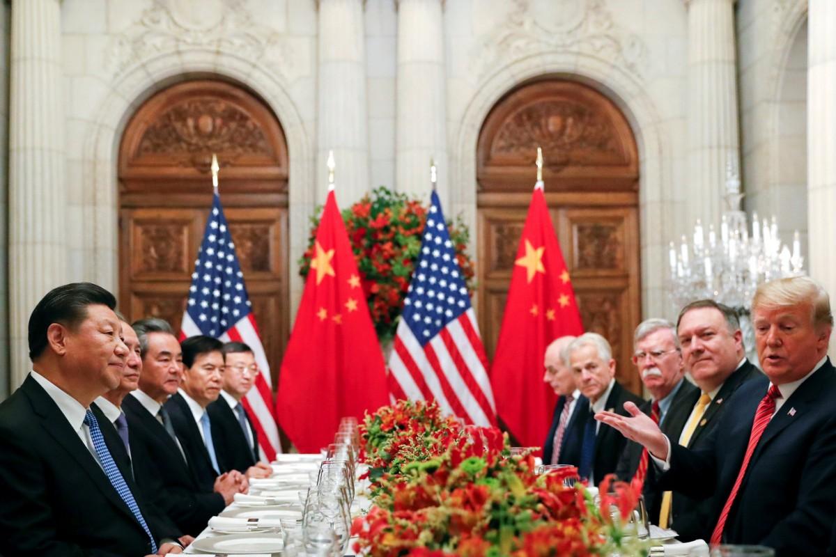 Tổng thống Donald Trump và Chủ tịch Tập Cận Bình gặp gỡ trong khuôn khổ Hội nghị thượng đỉnh G20 ở Osaka, Nhật Bản năm 2019. Ảnh: The New York Times