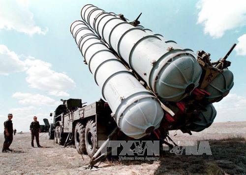 Cuộc diễn tập với tên lửa S-300 của Nga
