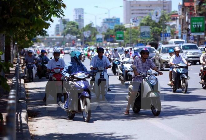 Thủ đô Hà Nội, từ ngày 11-17/7, có nắng nóng và nắng nóng gay gắt