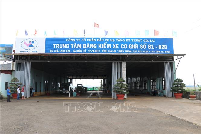 Trung tâm đăng kiểm xe cơ giới tại Gia Lai