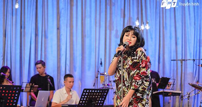 Thanh Lam trên sân khấu Music Home