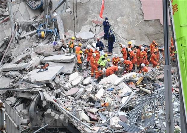 Một vụ sập khách sạn ở Trung Quốc hồi tháng 3