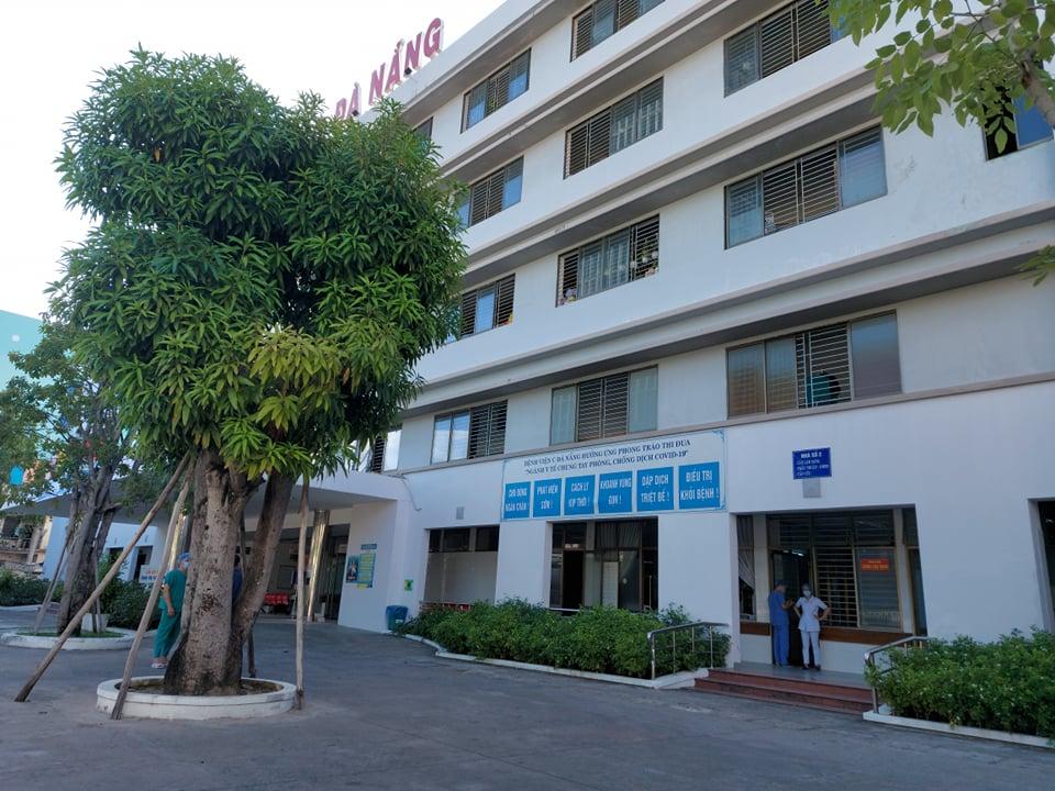 Từ 0h đêm 8/8, Bệnh viện C Đà Nẵng mở cửa trở lại, sẵn sàng đón bệnh nhân.(Ánh: Anh Văn)