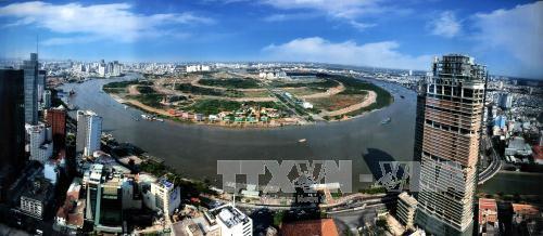 Hình ảnh quy hoạch khu đô thị thủ thiêm