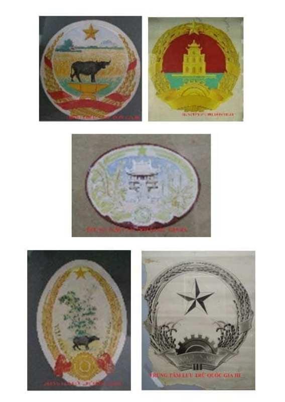 Hình ảnh được trưng bày tại triển lãm  (Ảnh: Trung tâm lưu trữ Quốc gia III)