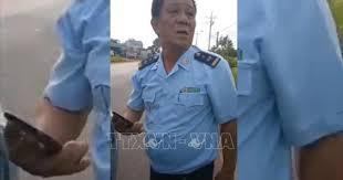ông Mai Như Vệ , Phó Chi cục trưởng, Chi cục Hải quan cửa khẩu Hoàng Diệu (Bình Phước) lái xe gây tai nạn giao thông.