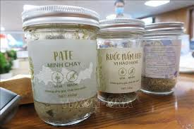 Sản phẩm của pate Minh Chay được bán ra ngoài thị trường