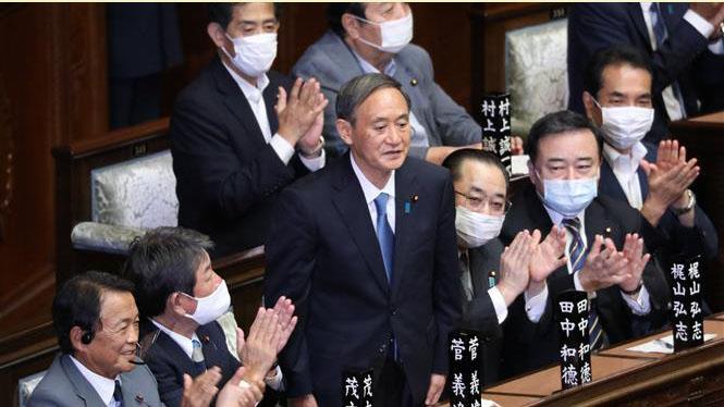 Ông Yoshihide Suga nhậm chức Thủ tướng Nhật Bản - Nhiều nước gửi thư và điện chúc mừng