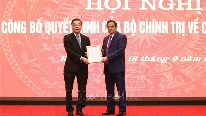 Thủ tướng Chính phủ phê chuẩn nhân sự thành phố Hà Nội, tỉnh Bắc Giang