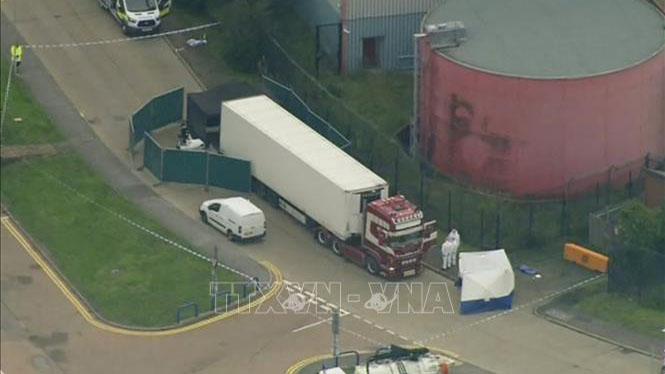 Vụ 39 thi thể trong xe tải ở Anh: Một đối tượng nhận tội vi phạm luật nhập cư