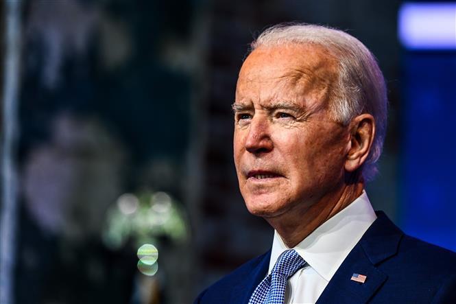 Trong ảnh: Ông Joe Biden phát biểu tại Wilmington, Delaware, Mỹ, ngày 24/11/2020. Ảnh: AFP/TTXVN