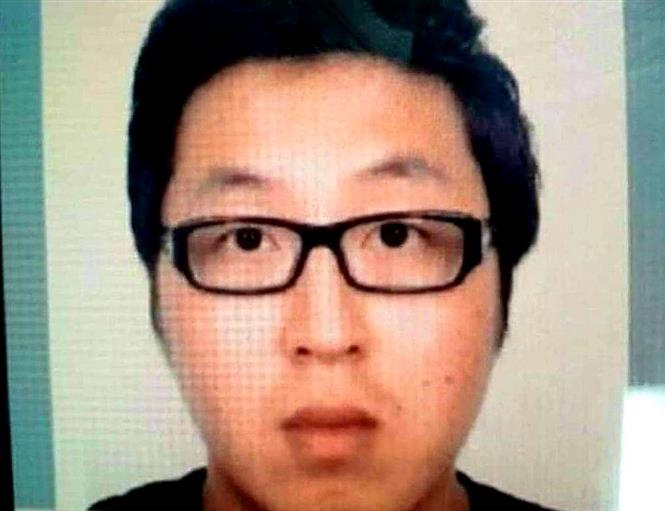 Trong ảnh: Ảnh nghi phạm Jeong In Cheol. Ảnh: TTXVN phát.