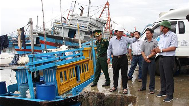 Các tỉnh, thành phố ven biển từ Thanh Hóa đến Bình Thuận chủ động ứng phó với bão VAMCO
