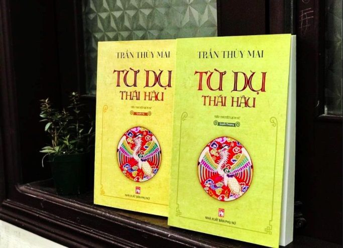 """Tác phẩm """"Từ Dụ Thái Hậu"""", tác giả Trần Thùy Mai, đã đoạt giải nhất cuộc thi tiểu thuyết lần thứ 5 (2016-2019)"""