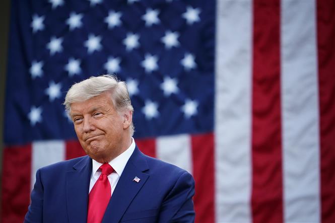 Tổng thống Mỹ Donald Trump tại Nhà Trắng ở Washington, DC, ngày 13/11/2020. Ảnh: AFP/TTXVN