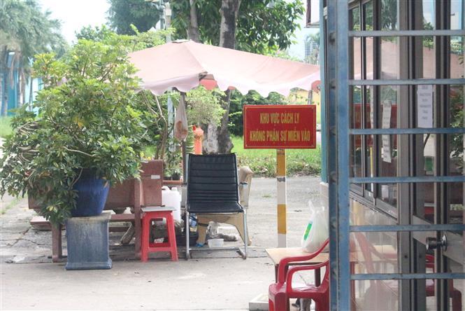 Trong ảnh: Khu cách ly đoàn tiếp viên Vietnam Airlines. Ảnh: Đinh Hằng - TTXVN