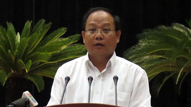 Thành phố Hồ Chí Minh: Tạm đình chỉ công tác đối với ông Tất Thành Cang