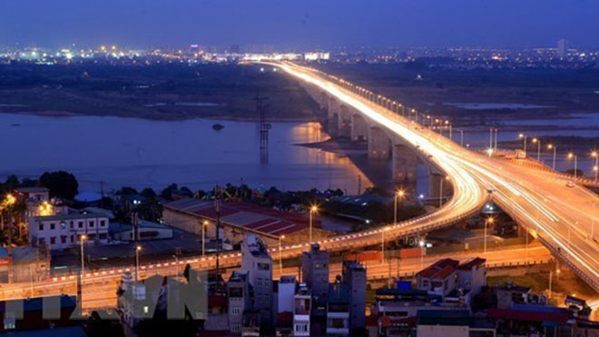 Hà Nội sẽ có thêm 10 cây cầu vượt sông Hồng