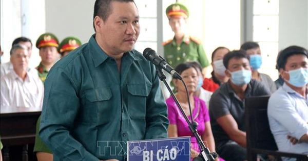 Bị cáo Nguyễn Thanh Tâm tại phiên tòa.