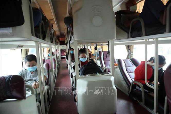 Vận tải hành khách tại Đà Nẵng hoạt động trở lại sau hơn 1 tháng tạm ngưng do dịch