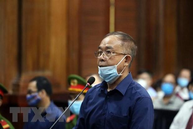 Bị cáo Nguyễn Thành Tài, nguyên Phó Chủ tịch Ủy ban Nhân dân Thành phố Hồ Chí Minh. (Ảnh: Thành Chung/TTXVN)
