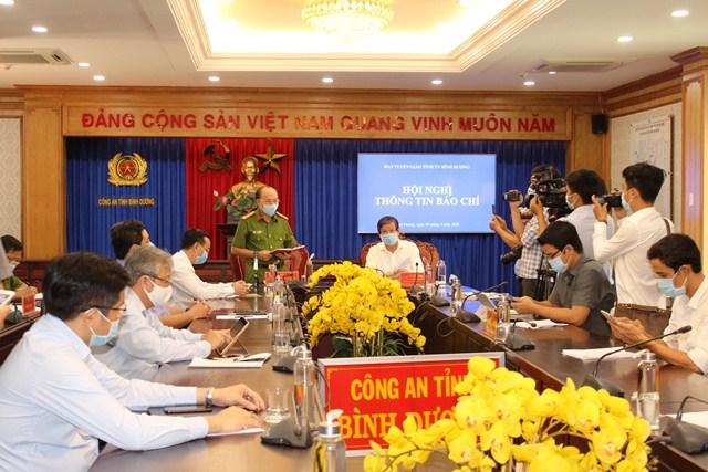 Hội nghị thông tin với báo chí về việc bắt tạm giam một số cá nhân là lãnh đạo Tổng Công ty 3/2.