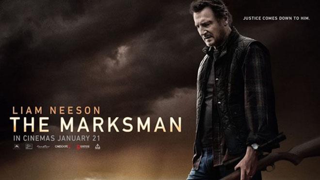 Câu chuyện điện ảnh: 'The Marksman' duy trì vị trí số 1 tại các rạp chiếu Bắc Mỹ