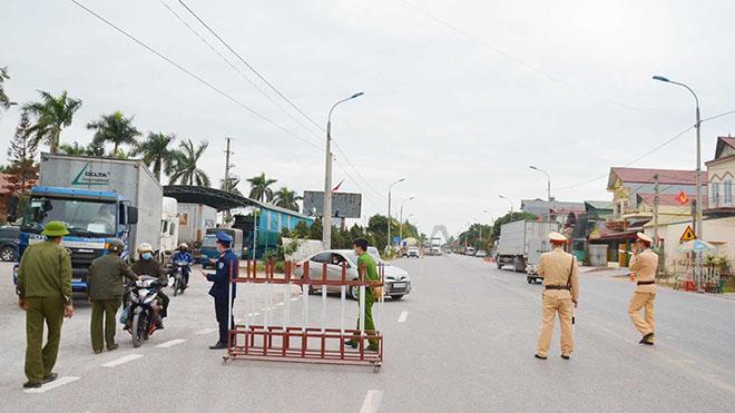 Dịch Covid-19: Quảng Ninh phong toả xã Bình Dương, thị xã Đông Triều