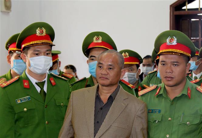 Trong ảnh: Bị cáo Đỗ Văn Minh bị tuyên tử hình. Ảnh: Hưng Thịnh – TTXVN