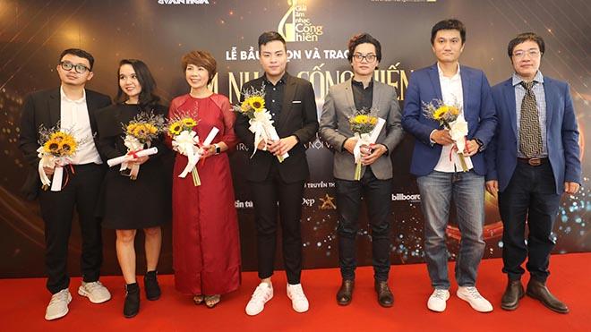 Các nghệ sĩ nhận chứng nhận của Ban tổ chức