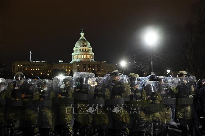 Ngày 6/1/2020, cảnh sát Quốc hội Mỹ (USCP) cho biết họ đã phỏng tỏa các tòa nhà Quốc hội