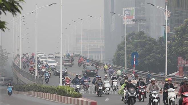 Không khí ở Bắc Bộ ô nhiễm vào buổi sáng