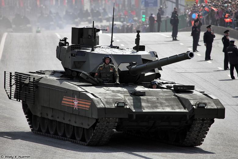 Xe tăng T-14 của Nga. Ảnh: N.I