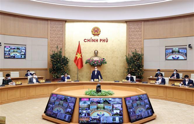 Thủ tướng Nguyễn Xuân Phúc phát biểu. Ảnh: Thống Nhất – TTXVN