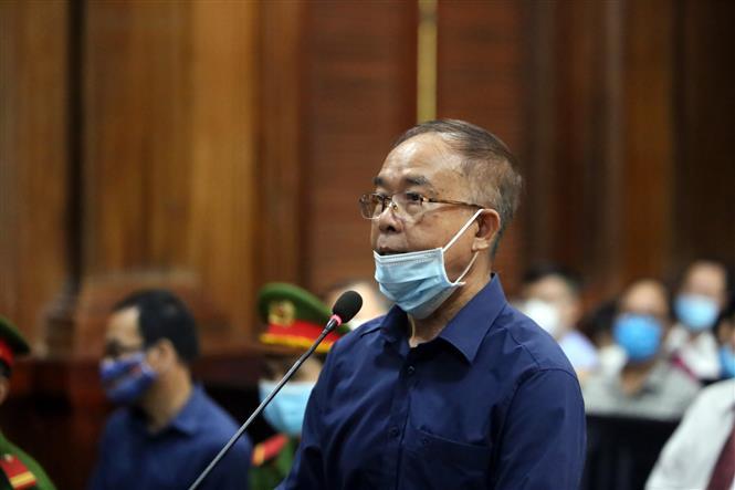 Trong ảnh: Bị cáo Nguyễn Thành Tài, nguyên Phó Chủ tịch UBND Thành phố Hồ Chí Minh. Ảnh: Thành Chung - TTXVN