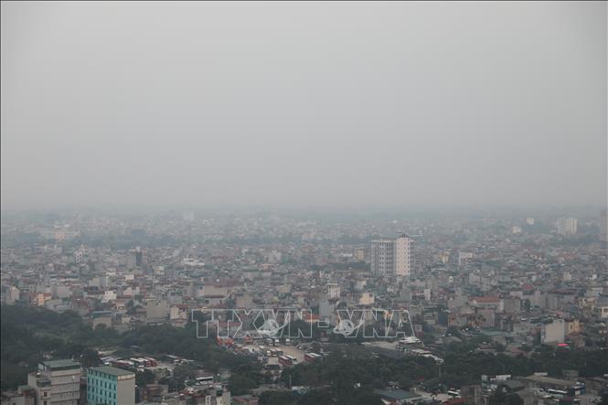 Bắc Bộ vẫn ô nhiễm không khí kéo dài trong ngày