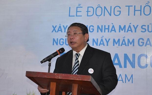 Bị can Phạm Văn Sáng thời điểm còn đương chức. (Nguồn: nhandan.com.vn)
