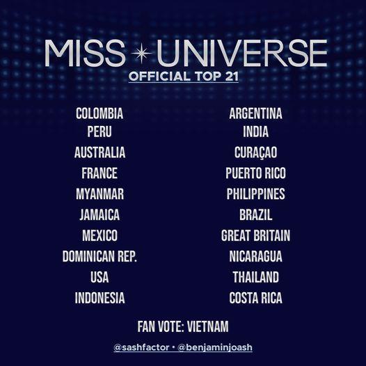 Chung kết Miss Universe, Miss Universe, Mexico đăng quang Miss Universe 2020, Khánh Vân dừng ở Top 21,  Mexico đăng quang Miss Universe