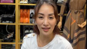 Khánh Thi livestream bán hàng, con trai Kubi vào 'tung hứng'