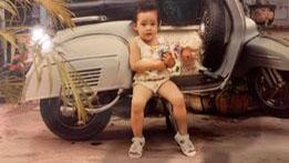 Hoa hậu Khánh Vân khoe 'nhan sắc' từ thời 2 tuổi đội nón lá