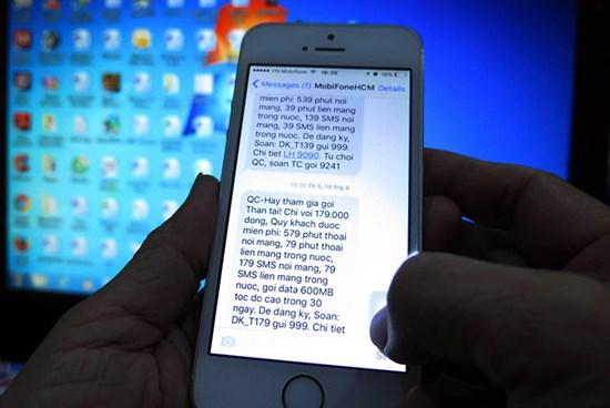 tin nhắc rác, vấn nạn tin nhắn rác
